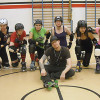 Raw Meat Roller Skaters after a great skate