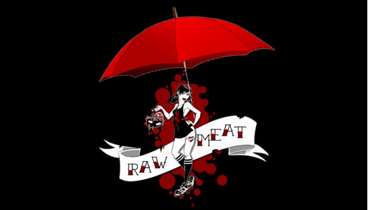 Too wet outside to skate? Come to Raw Meat on Saturday!