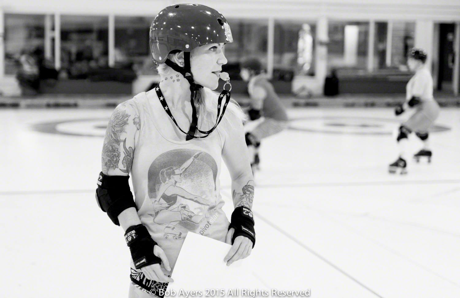 Tike Timebomb is our special guest coach! Photo courtesy of Bob Ayers.