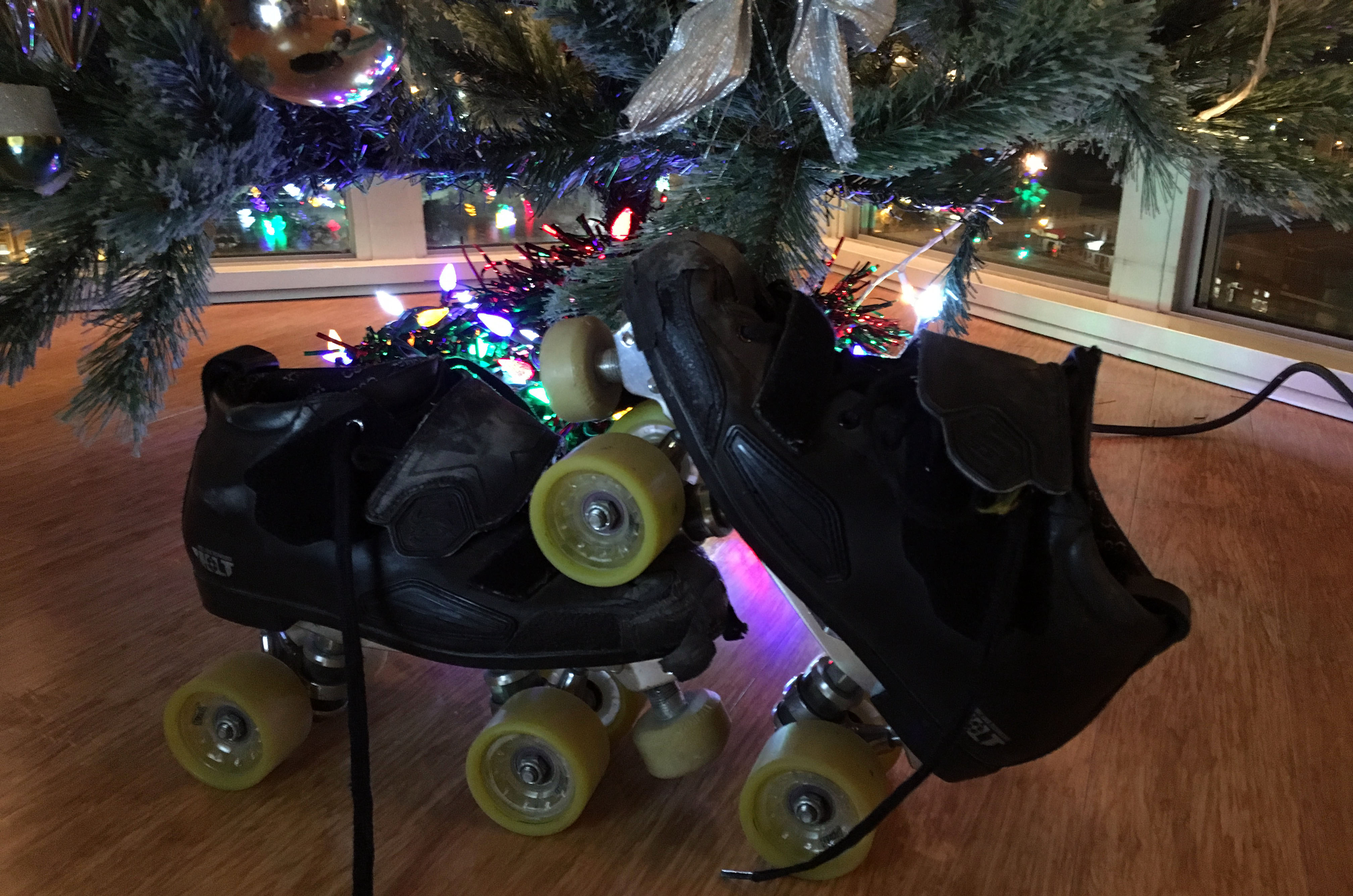 Come to 2015's pentultimate Raw Meat Roller Skating session on Dec. 12!