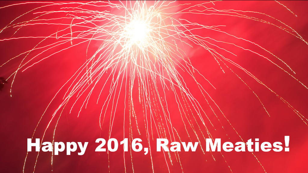 Happy 2016, Raw Meaties! This is the year to learn to roller skate!