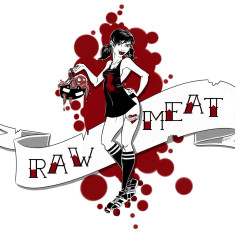 Learn to skate with Raw Meat Vancouver Roller Skating